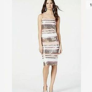 NWT $198 Vince Camuto 6 Sequin Cocktail Dress